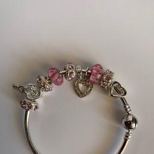 Jewelry - Braclet Charm Set for Pandora Bracelet!